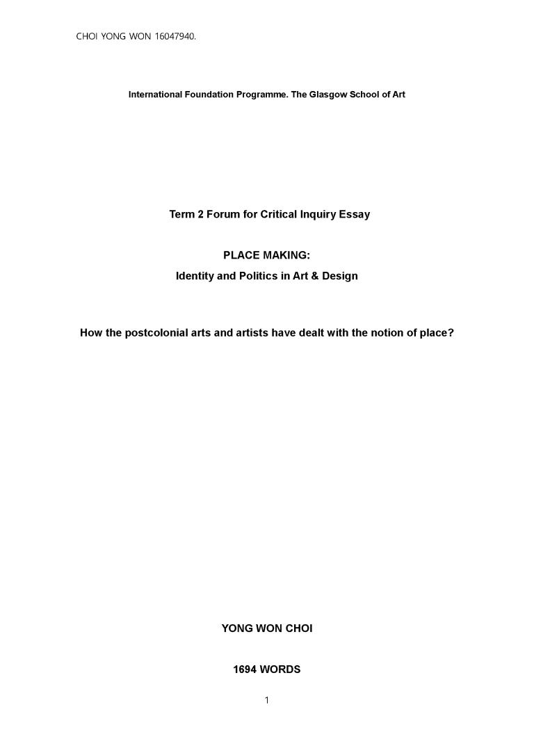 Y1 TERM 2 FOCI ESSAY (CHOI YONG WON 16047940)_Page_1