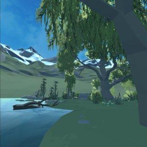 VR garden test
