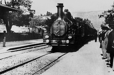 The Arrival of a Train 1896